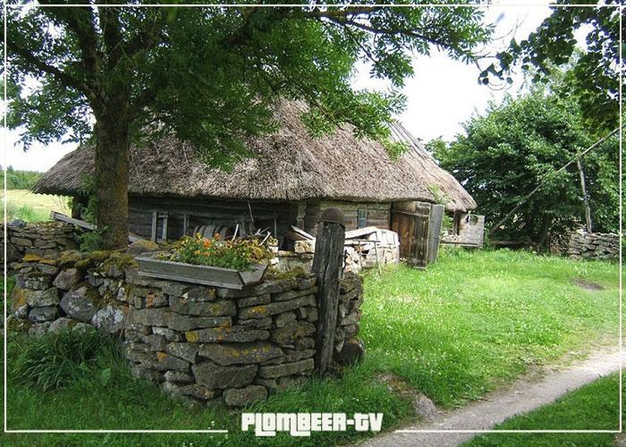 деревня эстонская остров сааремаа
