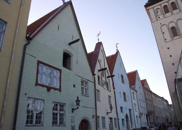 Архитектура в Таллинне: дома Три Брата