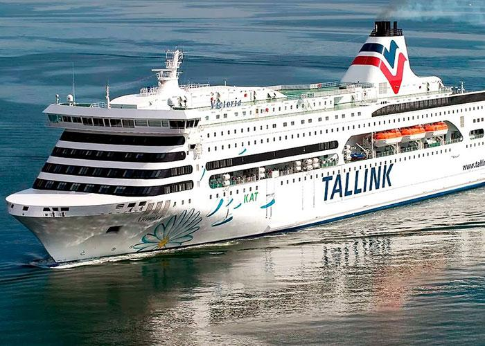 Паром victoria-I на маршруте Таллинн-Стокгольм