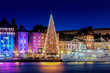 Новогодний круиз Таллинн-Стокгольм-Рига из Минска