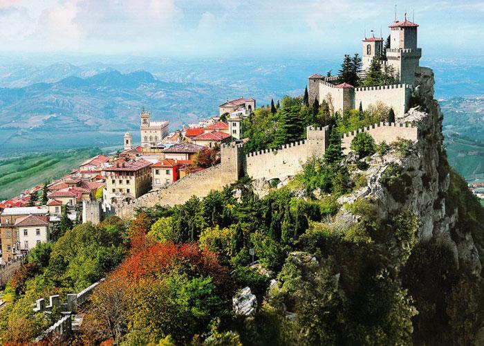 Путешествие по Европе: Италия, Сан-Марино, Австрия, Люксембург