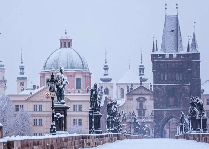 Встречаем Новый 2019 год в Праге
