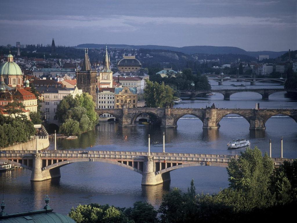 Прага Влтава