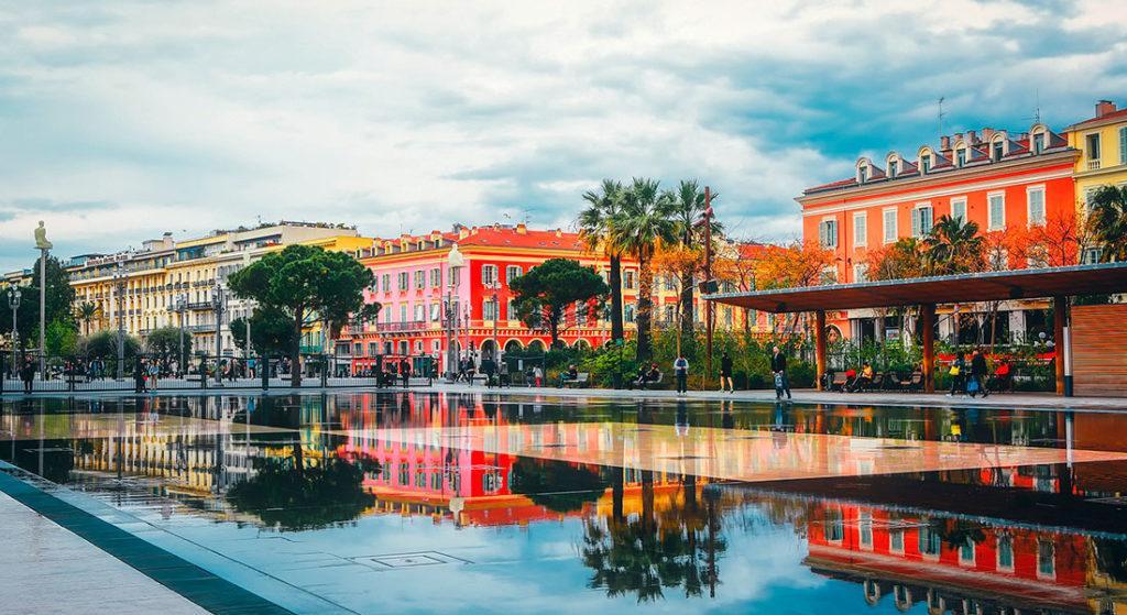 фонтан в Ницце