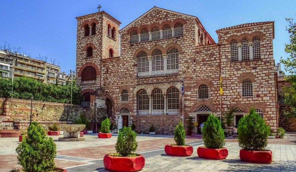 храм в Салониках