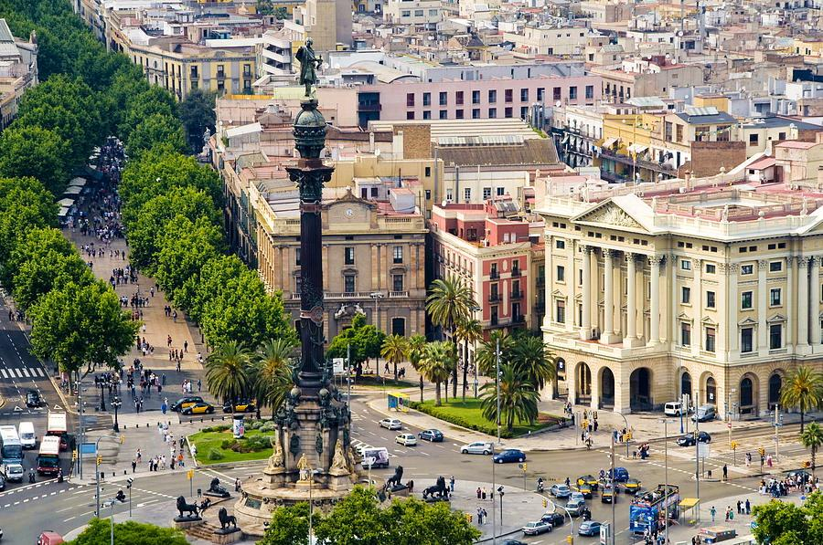 Барселона памятник Колумбу