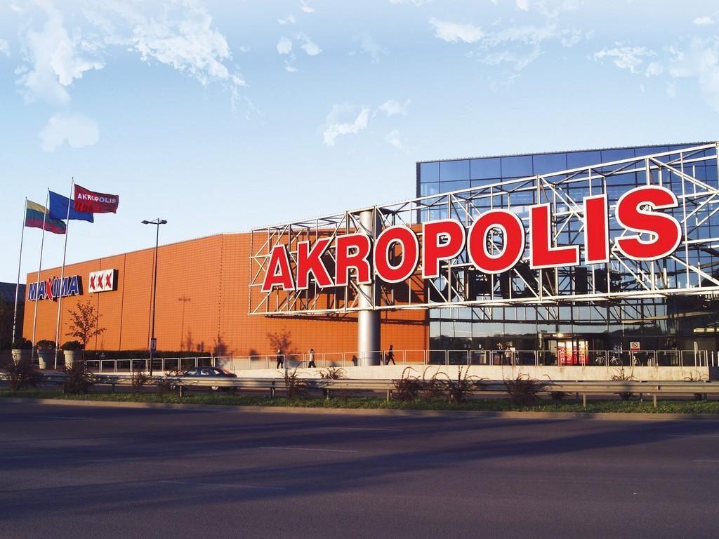 торговый центр Акрополис в Клайпеде