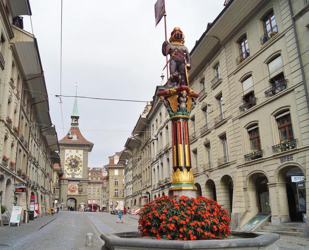 фонтан в Берне